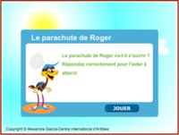 Le parachute de Roger