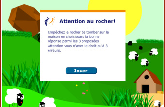 Attention au rocher