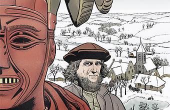 Les Grands peintres, Bruegel : Les mendiants