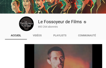 Un ambassadeur de la French touch sur Youtube : François Theurel, alias Le Fossoyeur de films