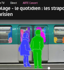 Karambolage - Les strapontins du métro parisien